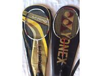 Yonex & li ning badminton racket