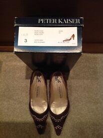 Ladies Peter Keiser designer shoes