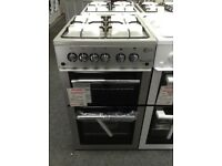 Flavel Milano G50 silver gas cooker. £230 new/graded 12 month Gtee