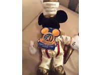 Disney Mickey Mouse Soft Toy Disneyland 50