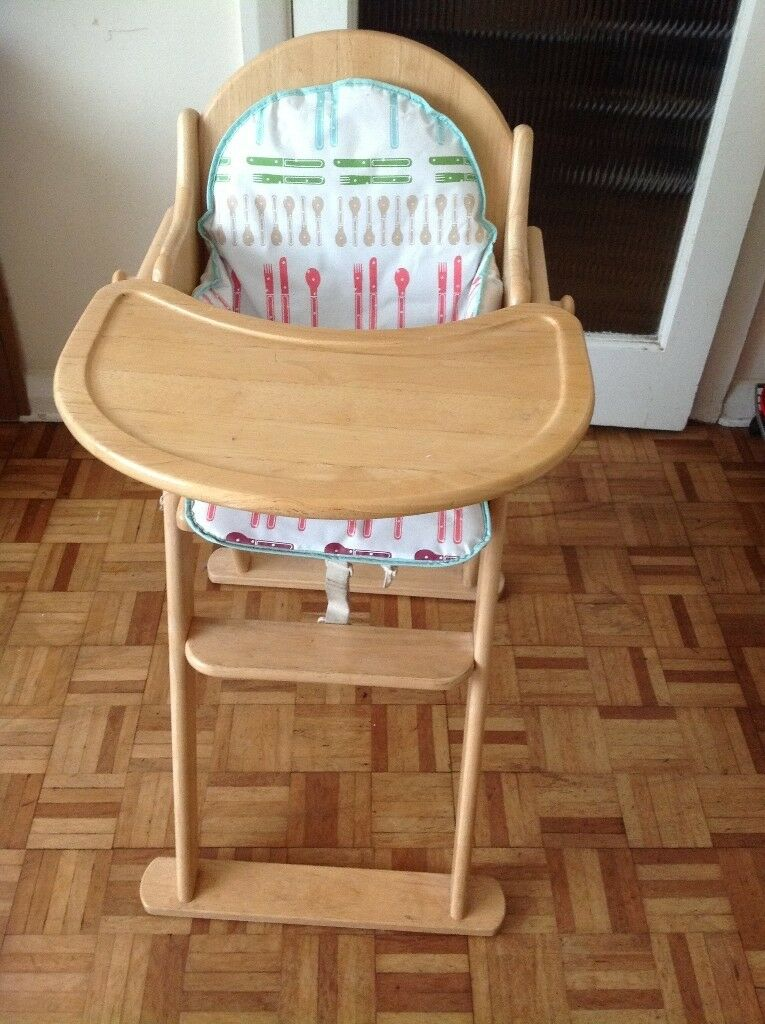 Baby Wooden High Chair In Hounslow London Gumtree