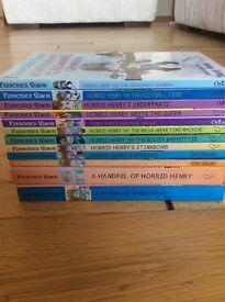 16 Horrid Henry books in good condition