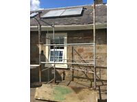 15ft scaffolding complete with 2 platforms for sale