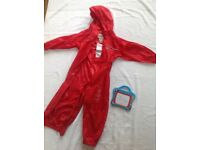Regatta red puddle suit aged 3-4 yrs