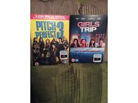 Girls trip and pitch perfect 3 new release dvd