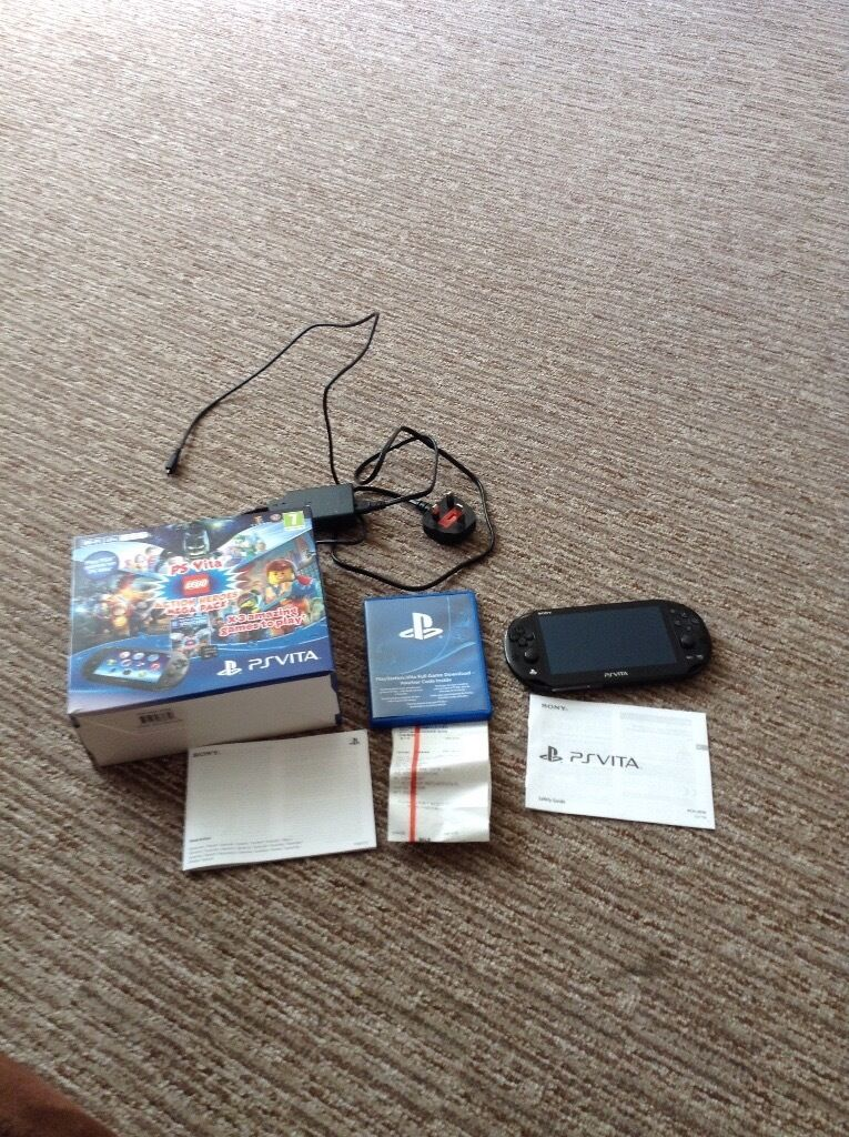 Ps vita console used a couple of times  Bought in error, could