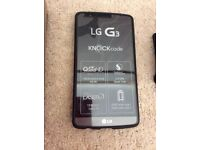 Boxed O2 16gb LG G3 Mobile phone with Wireless Charger