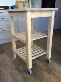 Kitchen trolley / butcher's block (Ikea) immaculate condition