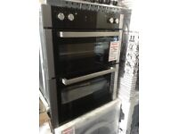 Beko integrated 72cm built under double oven. £299 RRP £400 new/graded 12 month gtee