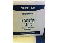 Xerox Phaser 7400 transfer units x 2 new and sealed packets 101R00421