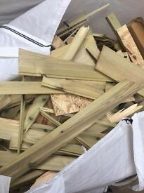 Timber offcutts free collection