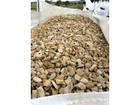 20 mm tuscany garden and driveway chips / stones