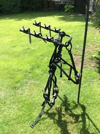 Hollywood bike rack for 3 bikes. Never used. Poole, Dorset