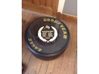 Ex. Formula one tyre coffee table, Alan Prost