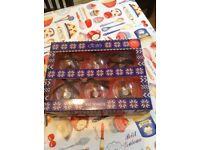 Ciate advent calendar and Christmas baubles