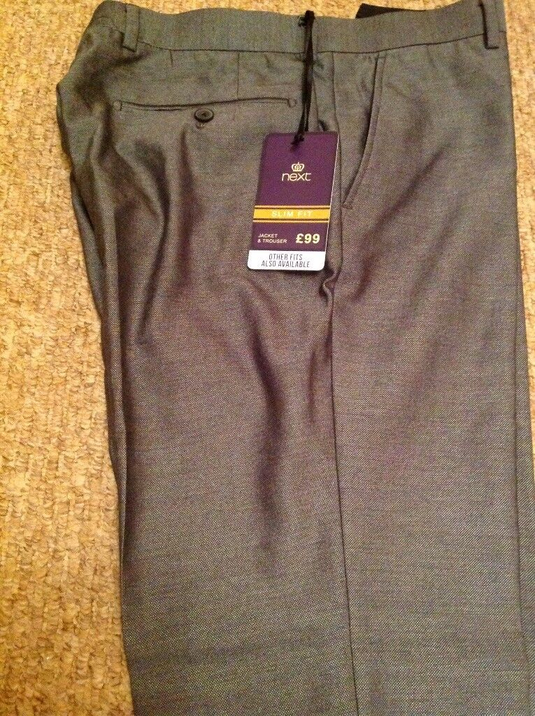 BRAND NEW NEXT MENS TROUSERS - Size 34R