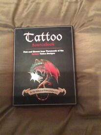 Book with Tattoo designs