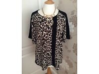 Next jersey animal top size 18