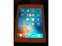 Ipad Air 2 wifi and cellular 16gb gold