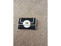 Black and white purse- brand new