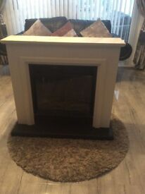 ELECTRIC FIREPLACE RRP £450, still in brand new condition