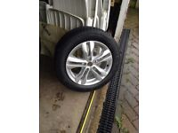 Brand new Nissan X trail alloy wheel