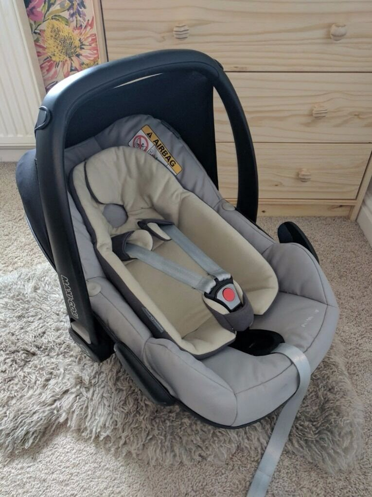maxi cosi pebble plus i size baby car seat grey sand colour in rodley west yorkshire. Black Bedroom Furniture Sets. Home Design Ideas