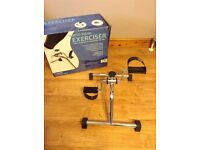 Seated pedal exerciser - hardly used in excellent condition.