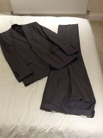 Men's Grey Zara Suit-40R