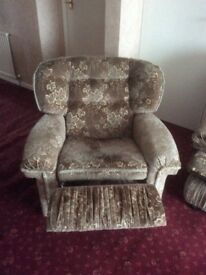 3 seater + 1 seater recliner + 1 seater sofa, quick sale required