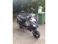 Aprilia SR50R, immaculate cond, reduced to £1,250. St Ives, Cornwall