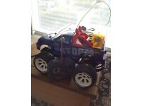 Toy monster truck in good condition with all the accessories.