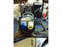 Honda 5Hp Generator. 2.5Kva. 110/240 Volt ac. £125.
