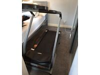 Carl Lewis moterised treadmill with power incline model MOTP12