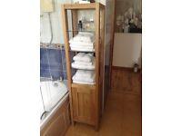 Marks and Spencer Oak Bathroom Cabinet
