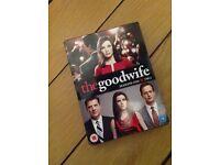 The Good Wife Seasons 1 & 2 DVD box set.