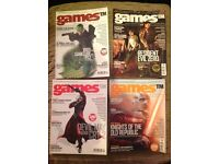 Games TM video game mag issues 1 to 4