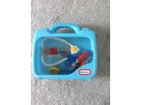 Kids role play medical kit