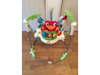 Fisher Price Rainforest Jumperoo. Very good condition