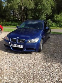 Bmw 330 d m sport estate for sale 2007 plate