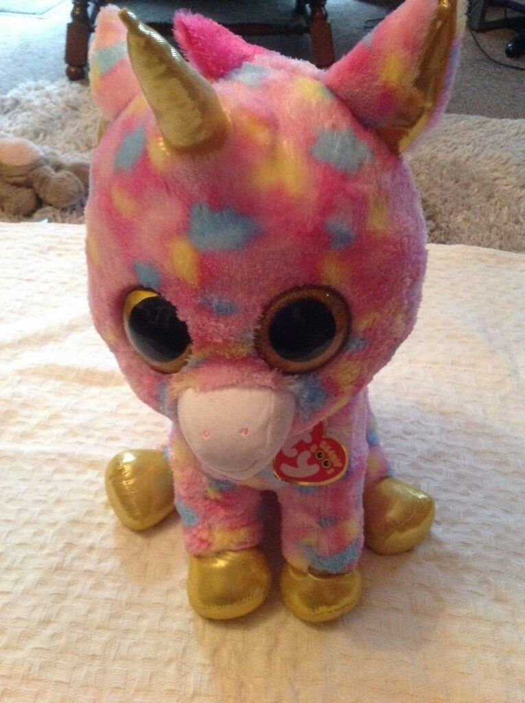 Giant TY Beannie Boo Unicorn 20in tall (51cm) as new with tags  cb6e8ea9b81