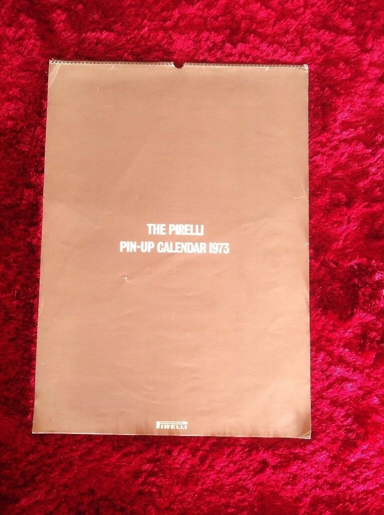 Vintage Collectable Pirelli Calender 1973