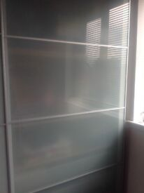 Ikea Combination Wardrobes with Sliding Soft Close Doors and Internal Light