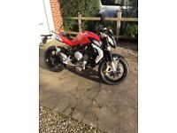 For sale due to lack of use one stunning MV Brutale 675