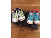 Converse, infant size 4, £4 each pair