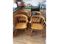 Captain's dining chairs
