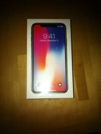 Brand New Unlocked iPhone X 64GB Space grey Sealed £870