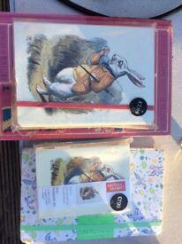 Notebook unused x 3 Alice in wonderland,