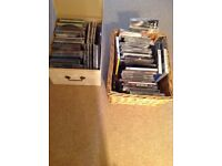 Assorted CD,s for sale over 30 with 2 PS2 games. Assorted titles.