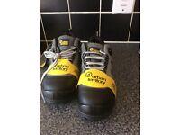 Men's steel toe cap boots brand new